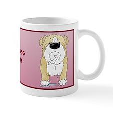 Big Nose Bulldog Mom Mug