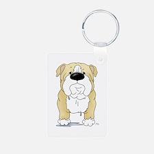Big Nose Bulldog Keychains