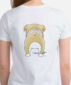 Big Nose Bulldog Women's T-Shirt