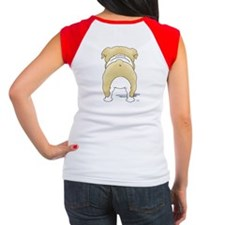 Big Nose Bulldog Women's Cap Sleeve T-Shirt