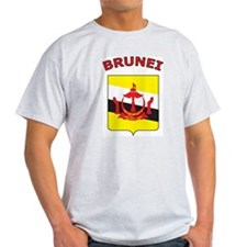 Brunei Ash Grey T-Shirt