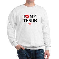 I Lover My Tenor Ukulele Sweatshirt