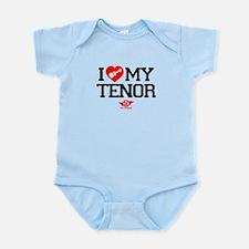 I Lover My Tenor Ukulele Infant Bodysuit