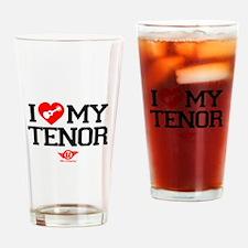 I Lover My Tenor Ukulele Drinking Glass