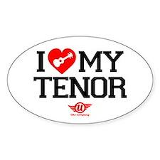 I Lover My Tenor Ukulele Decal