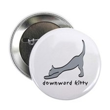 "Downward Kitty 2.25"" Button"