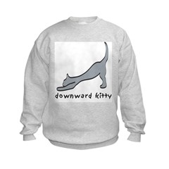 Downward Kitty Sweatshirt