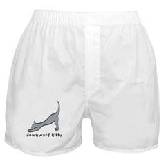 Downward Kitty Boxer Shorts
