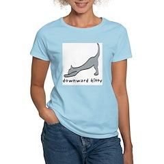 Downward Kitty T-Shirt