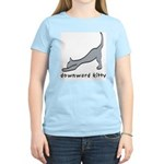 Downward Kitty Women's Light T-Shirt