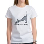 Downward Kitty Women's T-Shirt