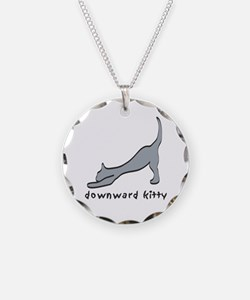 Downward Kitty Necklace