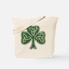 Vintage Trinity Shamrock Tote Bag