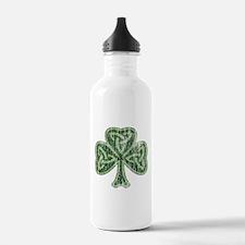 Vintage Trinity Shamrock Water Bottle
