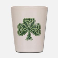 Vintage Trinity Shamrock Shot Glass