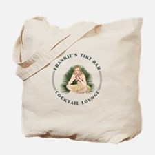 Frankie's Tiki Bar Hula Girl 4 Tote Bag