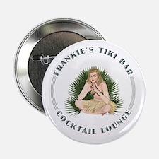 "Frankie's Tiki Bar Hula Girl 4 2.25"" Button (10 pa"