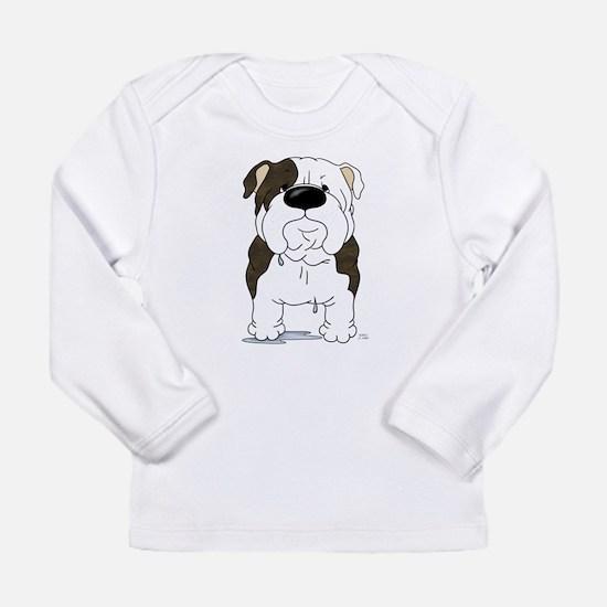 Big Nose Bulldog Long Sleeve Infant T-Shirt