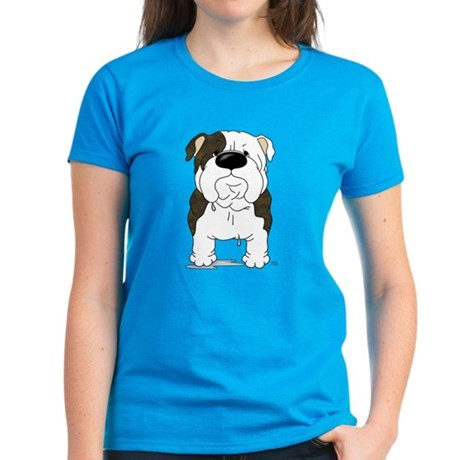 Big Nose Bulldog Women's Dark T-Shirt