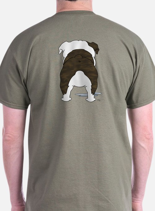 Big Nose Bulldog T-Shirt