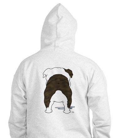 Big Nose Bulldog Jumper Hoody