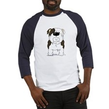 Big Nose Bulldog Baseball Jersey