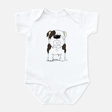 Big Nose Bulldog Infant Bodysuit