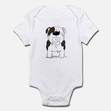 Big Nose Bulldog Onesie