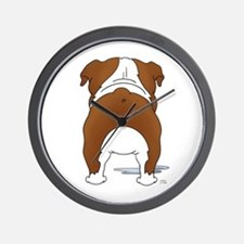 Big Butt Bulldog Wall Clock