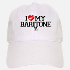 I Love My Baratone Ukulele Baseball Baseball Cap