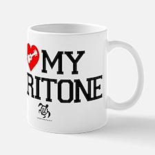 I Love My Baratone Ukulele Mug