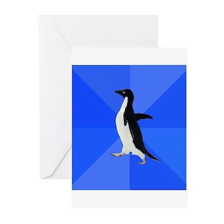 Socially Awkward Penguin Greeting Cards (Pk of 20)