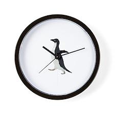 Socially Awkward Penguin Clea Wall Clock