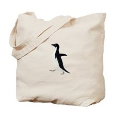 Socially Awkward Penguin Clea Tote Bag