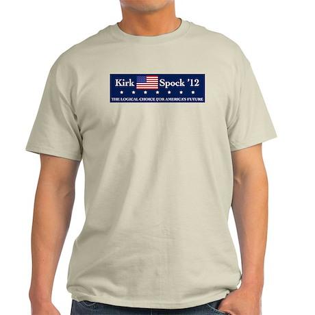 Kirk Spock 2012 Light T-Shirt