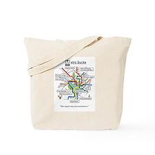 Cute Washington d.c. Tote Bag