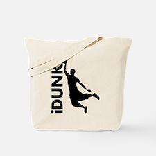 iDunk Basketball Tote Bag