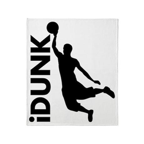 iDunk Basketball Throw Blanket