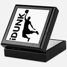 iDunk Basketball Keepsake Box