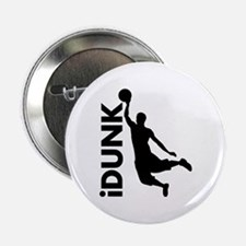 "iDunk Basketball 2.25"" Button"