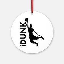 iDunk Basketball Ornament (Round)