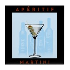 Aperitif Martini Tile Coaster