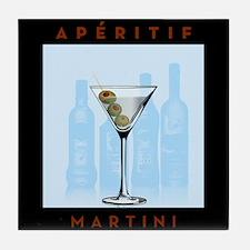 Aperitif Martini Tile Coaster