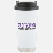 Xoloitzcuintle Stainless Steel Travel Mug