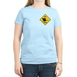Canada Goose Crossing Sign Women's Light T-Shirt