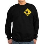Canada Goose Crossing Sign Sweatshirt (dark)