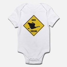 Canada Goose Crossing Sign Infant Bodysuit