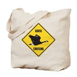 Canada Goose Crossing Sign Tote Bag