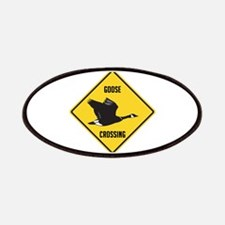 Canada Goose Crossing Sign Patches