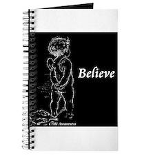 Believe Cherub (dark) Journal